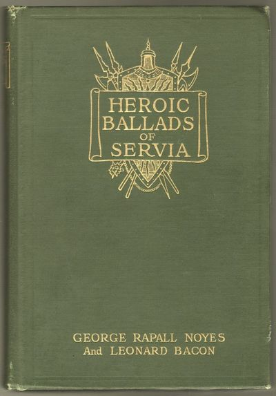 Boston: Sherman, French and Company, 1913. First Edition. Hardcover. Very good +. 8vo. Green cloth, ...
