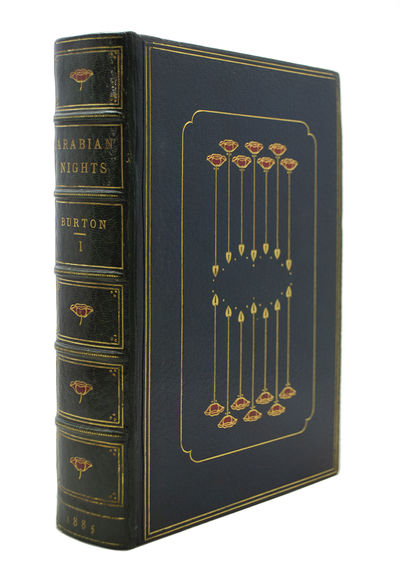A Finely Bound and Extra-Illustrated Set of The Benares Edition of Burtonís Arabian Nights . BURTON...