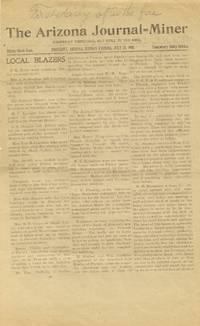 Arizona Journal-Miner from July 23, 1900