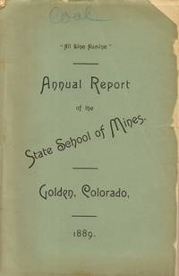 Annual Report of Field Work and Analyses. Geology of Colorado Coal  Deposits.