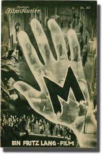 M (Original Austrian Film Program) by  screenwriter); Thea von Harbou (screenwriter); Peter Lorre (starring)  Fritz (director - 1931 - from Royal Books, Inc. (SKU: 141666)