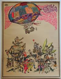 [1960s, Counter Culture, Haight-Ashbury,] Groovie Happening Sunday Afternoon; Original Poster