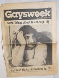 Gaysweek: #59, April 3, 1978; Some Things About Michael [Giametta]