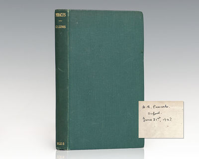 Geoffrey Bles: The Centenary Press, 1947. First edition of Lewis' study of the logical possibility o...