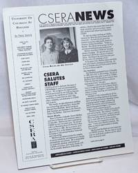 CSERA News: A bi-monthly newsletter from the Center for Studies of Ethnicity and Race in America (CSERA), University of Colorado at Boulder; Volume 5, No. 3, January 1992