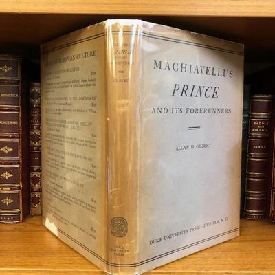 Durham: Duke University Press, 1938. First Edition, First Printing. Hardcover. Octavo, 266 pages; VG...