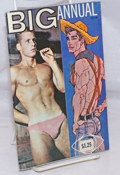 New York: Waljim Ent, 1963. Magazine. includes covers, 5.25x8 inches, b&w physique photos, erotic ga...
