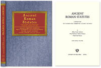 Ancient Roman Statutes: A Translation with Introduction, Commentary..