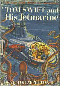Tom Swift and His Jetmarine  (The New Tom Swift Jr. Adventures #2) by  Victor II Appleton - Hardcover - Early Reprint - 1954 - from Orielis' Books and Biblio.com