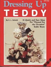 Dressing Up Teddy #8479 Plaid