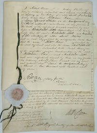 image of Early Scottish settlers in N.S.W.: land transfer of Duncan & Margaret MacKellar to Charles McLachlan.  Legal documents