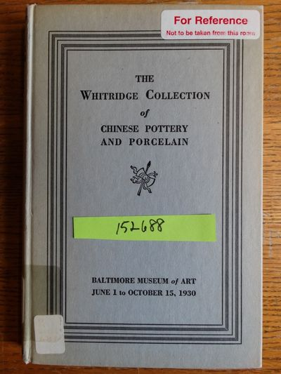 Baltimore, Maryland: Baltimore Museum of Art, 1930. Hardcover. G (Some discoloration to boards; ex-a...