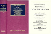 The World's Legal Philosophies. Translated by Rachel Szold. With..