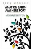 What on Earth Am I Here For? Purpose Driven Life(Booklet) by Rick Warren - Paperback - 2004-11-09 - from Books Express (SKU: 0310264839n)