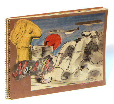 1982. First Edition. Spiral bound. Very good. Wide quarto (23 x 30 cm), pp. . Spiralbound sketchbook...