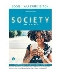image of Society: The Basics, Loose-Leaf Edition (15th Edition)