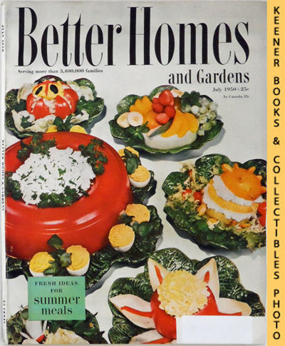 Better Homes And Gardens Magazine July 1950 Vol 28