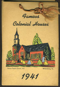 image of Famous Colonial Houses.  1941 Calendar