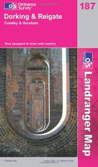 Dorking, Reigate and Crawley (OS Landranger Map 187) by Ordnance Survey - Paperback - from World of Books Ltd and Biblio.com