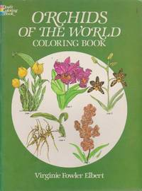 Orchids of the World Coloring Book