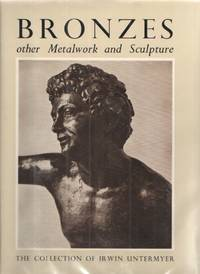 image of Bronzes and Other Metalwork and Sculpture in the Irwin Untermeyer  Collection