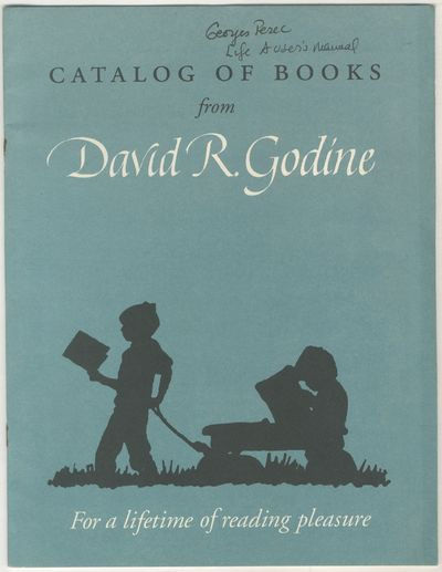 (Boston: David R. Godine), 1990. Softcover. Very Good. First edition. Quarto. 16pp. Wrappers stapled...
