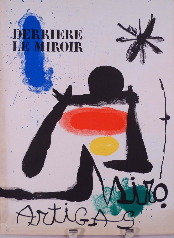 Derriere le miroir nos 139 140 june july 1963 by miro for Miroir 140 x 100