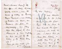 image of Autograph letter signed to 'My dear Graham', (Sidney Herbert, 1853-1914, M.P. and Cabinet Minister, 14th Earl)