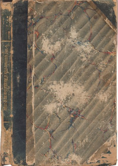 San Francisco: Department of Public Instruction. Fair. 1869. Hardcover. Grey marbled boards are in f...