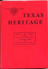 Texas Heritage Featuring the United States and Confederate States. Texas  Senators and Other Texana.