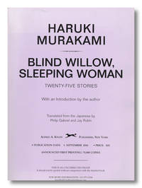 BLIND WILLOW, SLEEPING WOMAN  TWENTY-FIVE STORIES