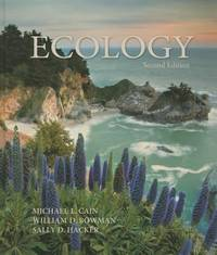 Ecology by Michael L. Cain; Sally D. Hacker; William D. Bowman - Hardcover - 2011 - from ThriftBooks (SKU: G0878934456I5N00)