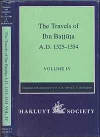 image of The Travels of Ibn Baṭṭūṭa, A.D. 1325-1354, Volume IV (Works issued by the Hakluyt Society, Second Series, 178)