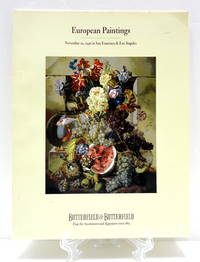 EUROPEAN PAINTINGS November 20, 1996 in San Francisco & Los Angeles
