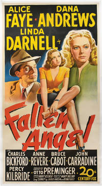 Fallen Angel (Original three sheet poster for the 1945 film)