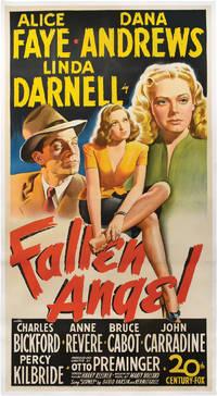 Fallen Angel (Original three sheet poster for the 1945 film)