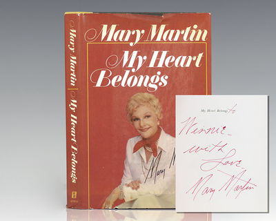 New York: William Morrow and Company, 1976. First edition of Mary Martin's compelling autobiography....