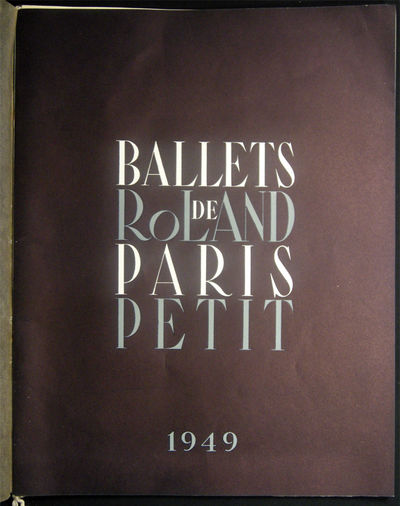 Paris, France: Ballets De Paris, 1949. (24) pages; illustrated in color and black and white by Leono...