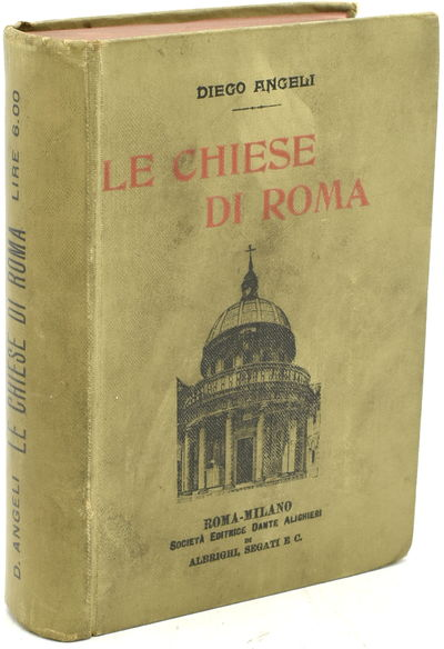 Roma-Milano: Societa Editrice Dante Alighieri, 1903. Very Good binding. The first two pages of the P...