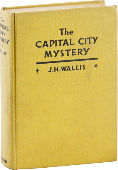 New York: E.P. Dutton & Co, 1932. First Edition. First Printing. Octavo (19.5cm); yellow cloth cover...