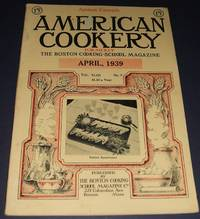 image of Nice Vintage Issue of the American Cookery Magazine for April 1939