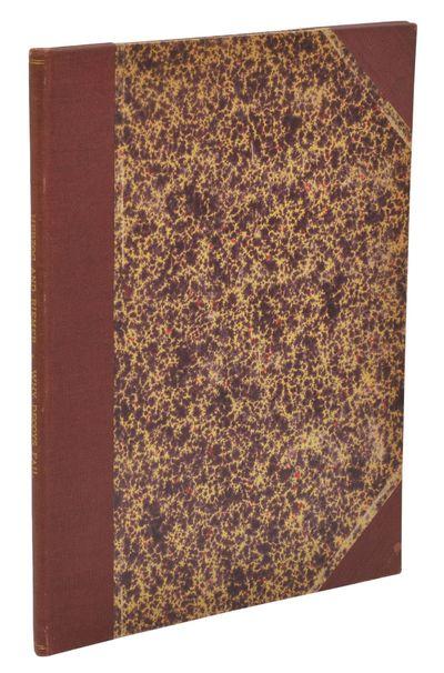 Chicago: R.C. Herzog & H.B. Riemer, 1920. First Edition. Very Good. First edition. , 5 pp. Multigrap...