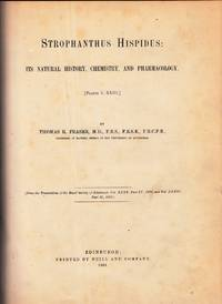 Strophantus hispidus: Its Natural History, Chemistry, and Pharmacology