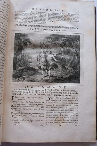 LES METAMORPHOSES D'OVIDE, en Latin...