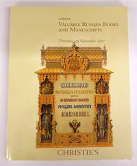 Christie's Valuable Russian Books and Manuscripts by Christie's - Paperback - 2007 - from Attic Books and Biblio.com