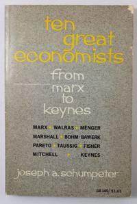 image of Ten Great Economists