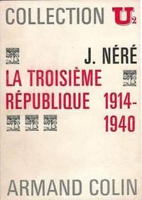 La troisième république 1914-1940