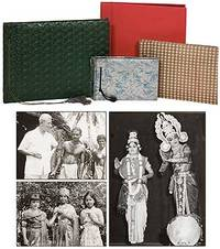 Four photo albums of events in India, owned by Thomas W. Simons, American Counsul General in Madras