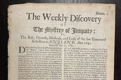 [EARLY NEWSPAPER] The Weekly...