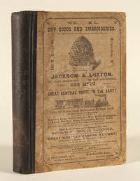 1856-57. MILWAUKEE CITY DIRECTORY, AND BUSINESS ADVERTISER, CONTAINING LOCAL AND GENERAL STATISTICS, WITH A NEW MAP OF THE CITY